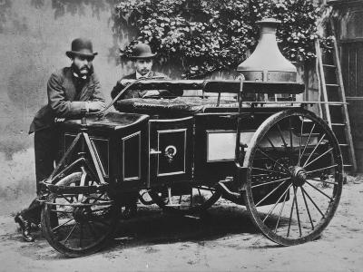 Steam Wagon-Hulton Archive-Photographic Print