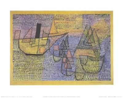 Steamboat and Sailing Boats, c.1931-Paul Klee-Art Print