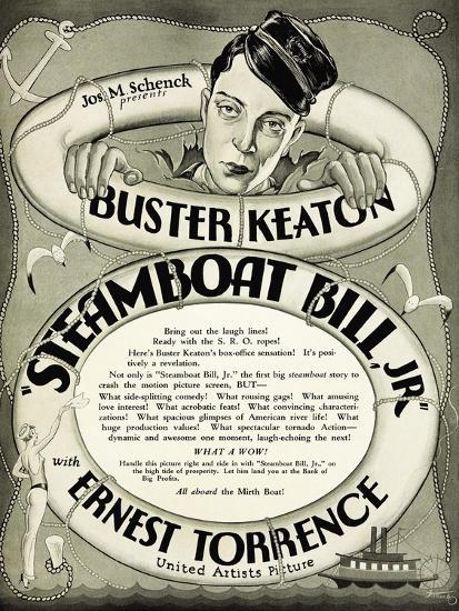 Steamboat Bill Jr., 1928--Giclee Print