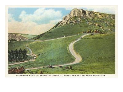 Steamboat Rock, Big Horn Mountains, Wyoming--Art Print