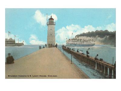Steamer, Chicago, Illinois--Art Print