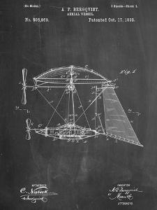Steampunk Aerial Vessel 1893 Patent