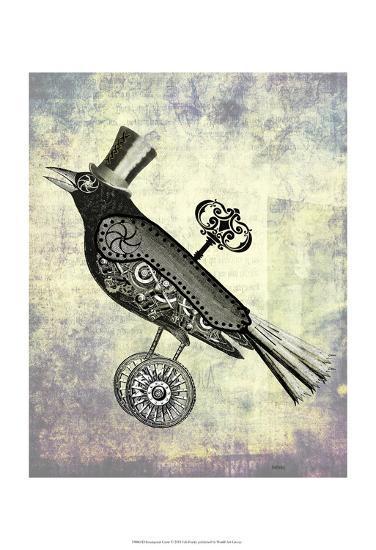 Steampunk Crow-Fab Funky-Art Print