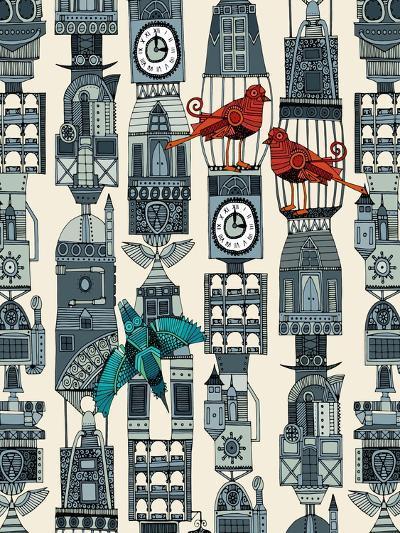Steampunk Towers-Sharon Turner-Art Print