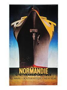 Steamship Normandie, C1935