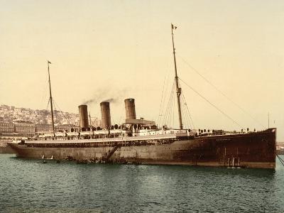 Steamship Normannia, Algeria, C.1899--Giclee Print