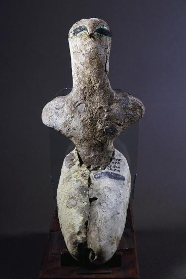 Steatopygia Female Figure--Giclee Print