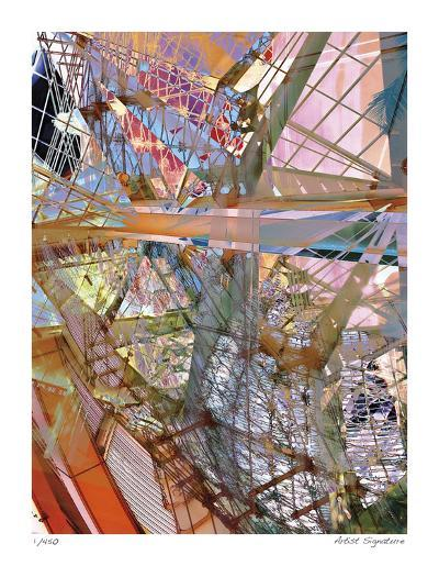 Steel and Glass Meld-Stephen Donwerth-Giclee Print