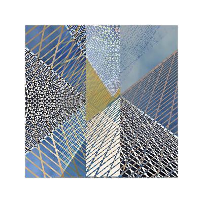 Steel And Sky 3-Carla West-Giclee Print