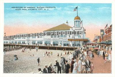 Steel Pier, Atlantic City--Art Print