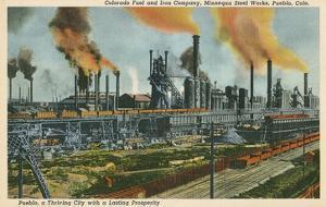 Steel Works, Pueblo, Colorado