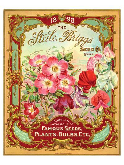Steele Briggs Seed Catalogue--Art Print