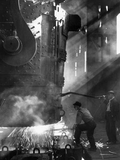 Steelworkers--Photographic Print