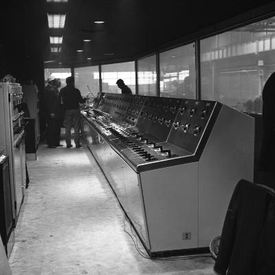 Steelworks Control Centre, Park Gate Iron and Steel Co, Rotherham, South Yorkshire, 1964-Michael Walters-Photographic Print