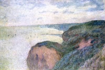Steep Cliffs Near Dieppe, 1897-Claude Monet-Giclee Print
