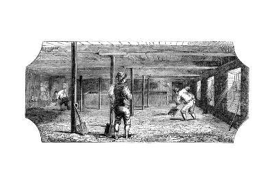 Steeping, Couching and Flooring Malt, 1886--Giclee Print
