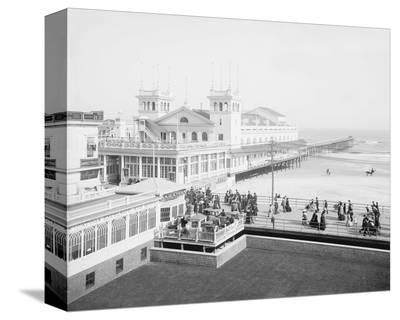 Steeplechase Pier, Atlantic City, NJ, c. 1905--Stretched Canvas Print