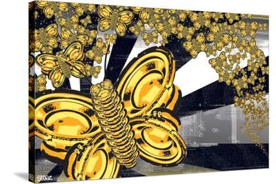 Steez (Butterfly Speakers - Sound of Silence)--Stretched Canvas Print