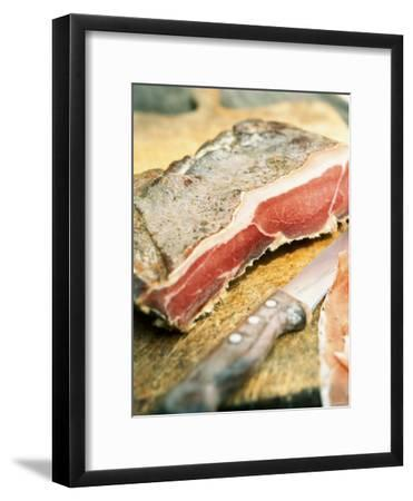 South Tyrolean Speck (Bacon)