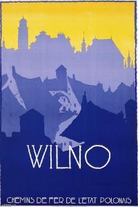Wilno Poster by Stefan Norblin