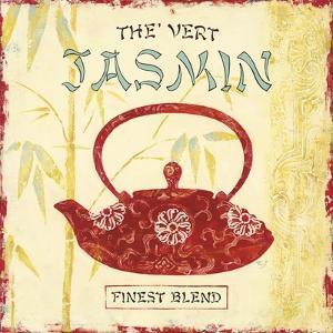 Jasmine Green Tea by Stefania Ferri