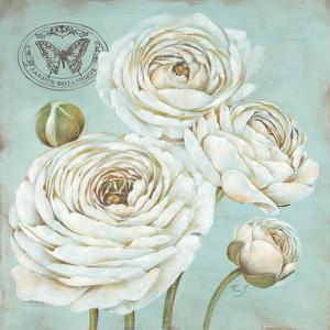 Ranunculus Stamp by Stefania Ferri