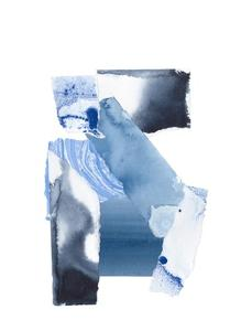 Cerulean Assemblage 4 by Stefano Altamura