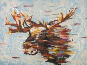 Fractal Moose by Stefano Altamura