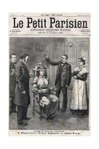 Death Penalty by Electrocution 1899 by Stefano Bianchetti