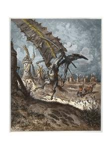 Don Quixote and the Windmills by Stefano Bianchetti