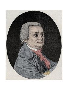 German Actor August Wilhelm Iffland by Stefano Bianchetti