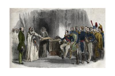 Liberation of Abd-El-Kader by Napoleon III
