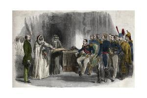 Liberation of Abd-El-Kader by Napoleon III by Stefano Bianchetti