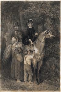 Napoleon III and Eugenia De Montijo by Stefano Bianchetti