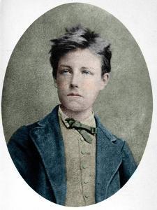 Portrait of Arthur Rimbaud by Stefano Bianchetti