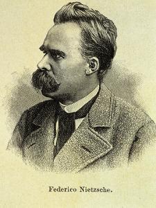 Portrait of Friedrich Nietzsche by Stefano Bianchetti