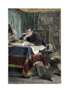 Portrait of Niccolo Machiavelli by Stefano Bianchetti