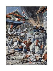 Riots in Korea against Japaneses by Stefano Bianchetti