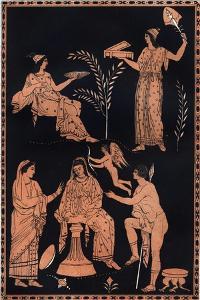 Scene of Initiation into the Eleusinian Mysteries by Stefano Bianchetti