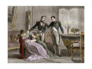 The Divorce of Napoleon I and Josephine in 1809 by Stefano Bianchetti