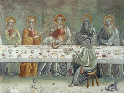 Last Supper, Central Part