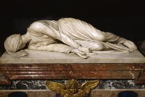 Martyrdom of Saint Cecilia, 1600 by Stefano Maderno