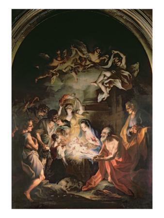 Nativity with St. Jerome