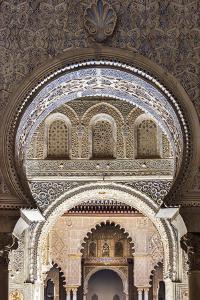 Moorish architecture inside the Alcazar, Seville, Andalusia, Spain by Stefano Politi Markovina