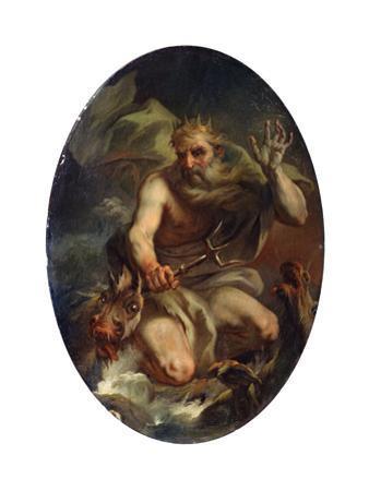 Neptune, 1768 by Stefano Torelli