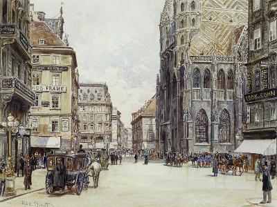 Stefanplatz, Vienna-Rudolf Bernt-Giclee Print