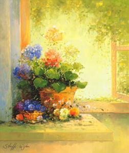 Summer Light II by Steffi Wyker