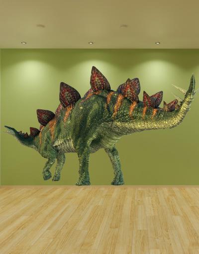 Stegosaurus--Wall Decal