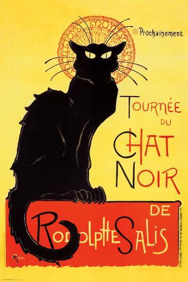 Steinlen - Chat Noir-Th?ophile Alexandre Steinlen-Poster