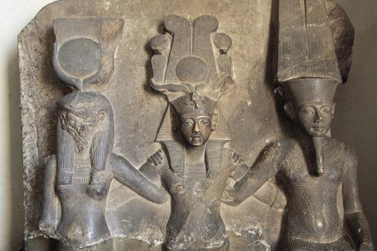 Stele of Horemheb's Coronation--Giclee Print